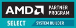 AMD Select Partner Program Badge